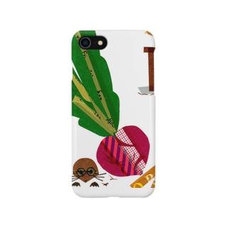 おおきなカブともぐらさん Smartphone cases