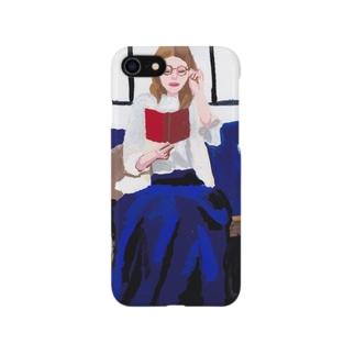 青スカート Smartphone cases