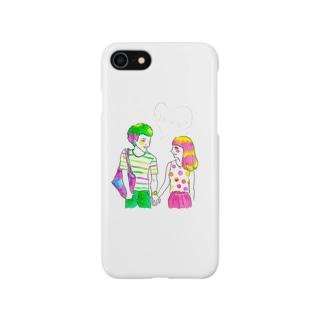 カラフルに恋 Smartphone cases