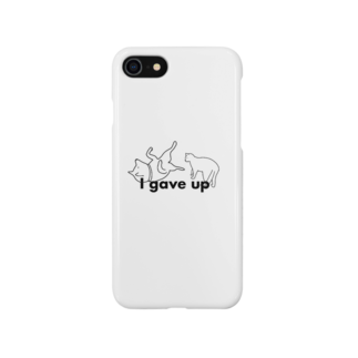 togirouのI gave up Smartphone cases