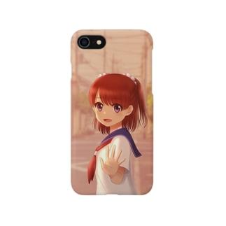夕方の帰り道 Smartphone cases