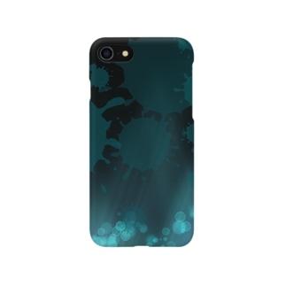 蒼き空間 Smartphone cases