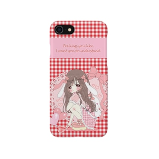 ♡Feelings you like I want you to understand♡(iphoneケース) Smartphone cases