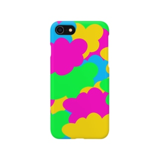 カラフル雲 Smartphone cases