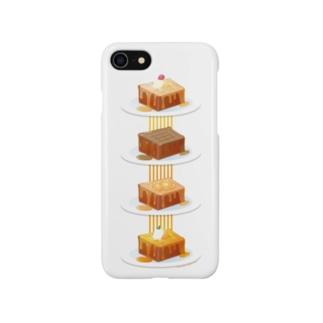 本日のハニートースト Smartphone cases