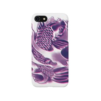 水戸の刺青スマホケース Smartphone cases