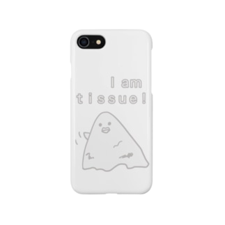 ティッシュの運命 Smartphone cases
