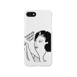 お洗濯ママ Smartphone cases