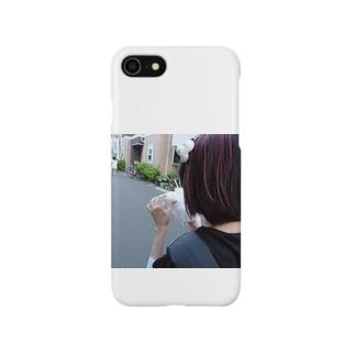 ☁︎ 睡魔ちゃん ︎︎☁︎︎⋆̩ Smartphone cases