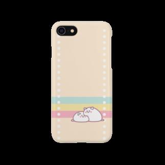 空色*りこぴんの猫だいふくスマホ1 Smartphone cases