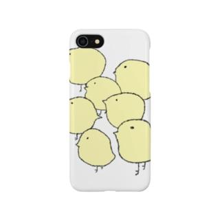 群れ Smartphone cases