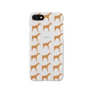 ほえる柴犬 Smartphone cases