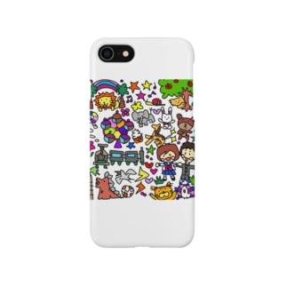 アニマルランド Smartphone cases