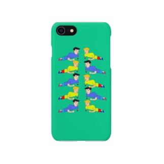 インナーマッスル Smartphone cases