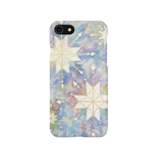 Snow Crystals Smartphone cases