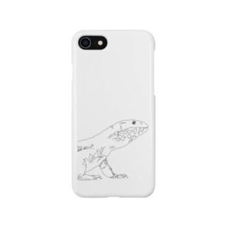 サバンナモニター Smartphone cases