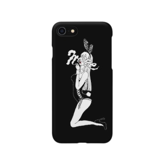 jet black bunny girl Smartphone cases