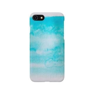 青空色 Smartphone cases
