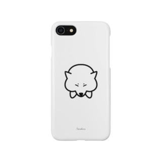 ねむい柴犬 Smartphone cases