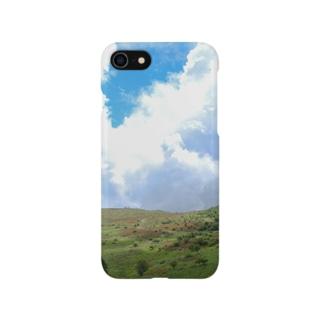 レンゲツツジの霧ヶ峰 Smartphone cases