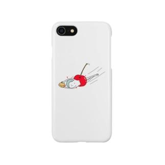 種とり坊主 Smartphone cases