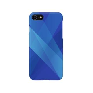 青い青い スマートフォンケース