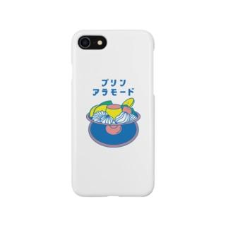【純喫茶メロン】プリン・アラモード Smartphone cases