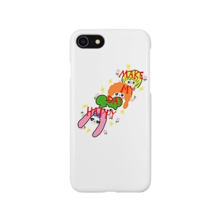 『MAKE MY DAY HAPPY』 Smartphone cases