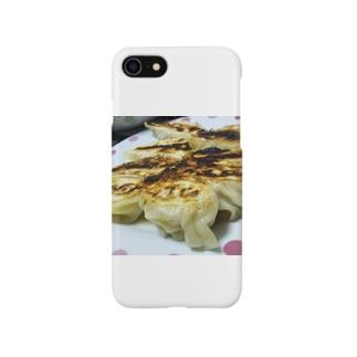 いつも美味しい気持ち(焼き餃子) Smartphone cases