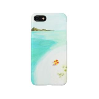 南の島へ|アイランド・トリップ♪ Smartphone cases