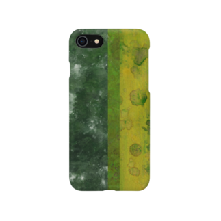 green worldのtexture 地球01 Smartphone cases