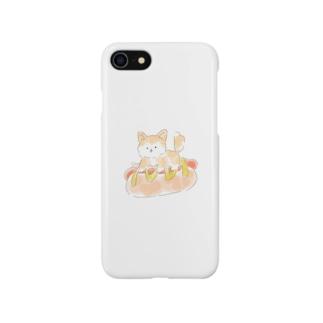 ホットドッグドッグ Smartphone cases
