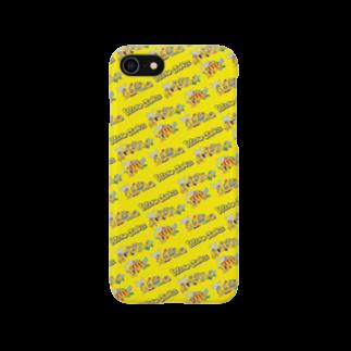 The World of YELLOW JUNKIEのYELLOW JUNKIU 総柄(衝突事故) Smartphone cases
