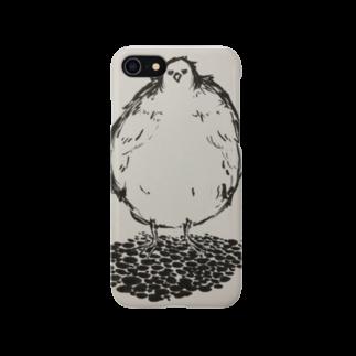Takenokonokoのふてどり Smartphone cases