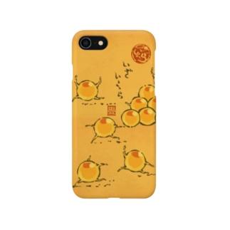 スマホケース「いくら人 絵巻」 Smartphone cases