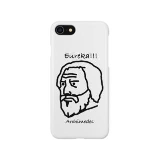 アルキメデスくん Smartphone cases