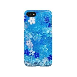 泡華   竜胆 Smartphone cases