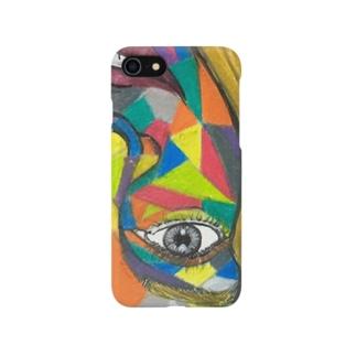 カラフル女の子 Smartphone cases