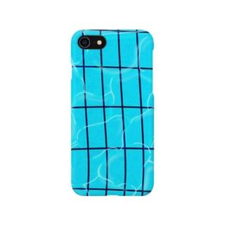 夏のプール Smartphone cases
