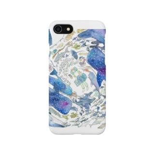 海の中 Smartphone cases