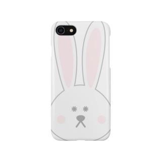 でか耳ウサギ Smartphone cases