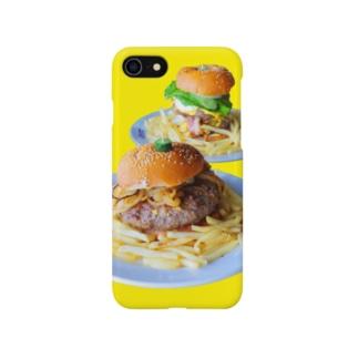 バーガー Smartphone cases
