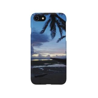雨あがりの島 Smartphone cases