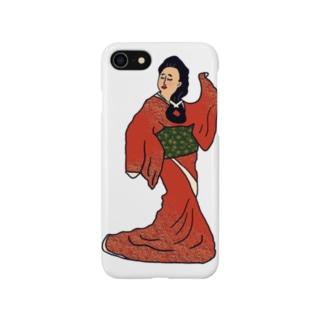 見返り美人 Smartphone cases