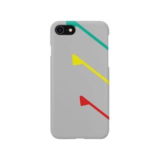 角から 明朝体2 Smartphone cases