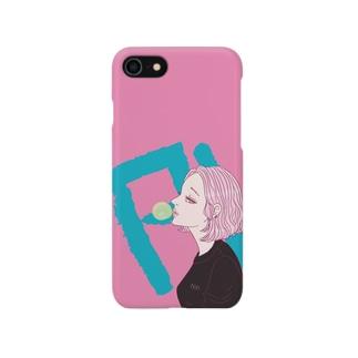 風船ガム Smartphone cases