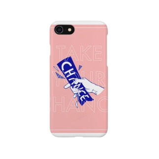 Take Your Chanceピンク Smartphone cases