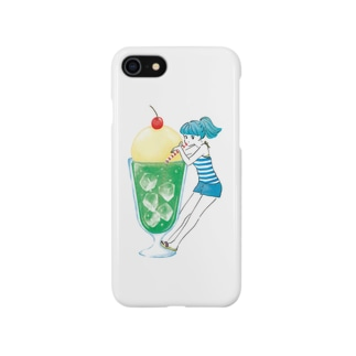 メロンソーダガール Smartphone cases