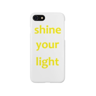 shine your light Smartphone cases