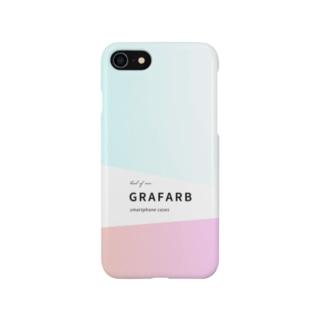 グラデーション #01 Smartphone cases